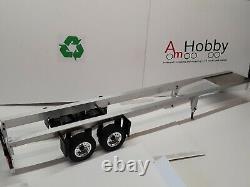 1/14 Tamiya Compatible Twin Axle Super Single Carson Trailer, Assembled