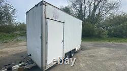 10ft x 5ft Box trailer Twin Axle New Side Doors Roller Door