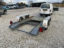 11ft X 59 Twin Axle car transporter trailer Ideal For a Car Or Big Buggy Quad