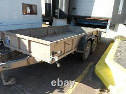 12 FOOT x 6 FOOT TWIN AXLE IFOR WILLIAMS TRAILER TYPE GD1260