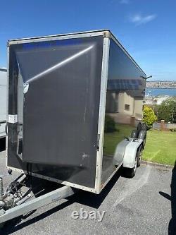 14ft Box Trailer Blue Line (ifor Williams) Ramp Door Twin Axle