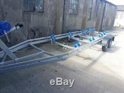 1500kg Twin axle unbraked boat trailer