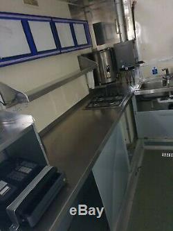 16foot twin axle catering trailer burger van