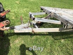 16ft indespension Tilt Bed Car Transporter Trailer twin axle