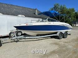 2006 Yamaha SX230 Twin Jet with Tandem Axle Trailer & Disc Surge Brakes