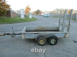 2007 Bateson 2000 kg 8 x 5 Twin axle trailer ramp back door sides 2 ton