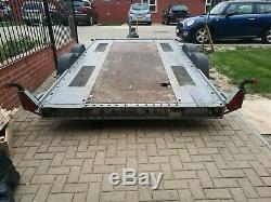 2012 Brian James A MAX Twin axle car trailer transporter