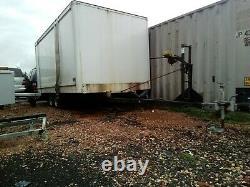 22foot 2600kg boat trailer Twin 1300kg Knott Avonride axles brakes working