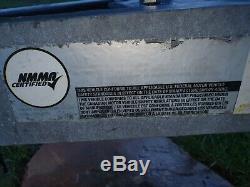 24ft Twin Axle boat Trailer 2000kg lode