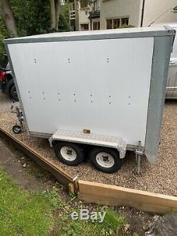 7x4 Box Trailer Twin Axle