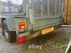 8x4 twin axle trailer