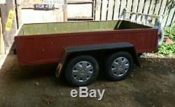 Al-Co Framed Twin Axle Car Box Trailer 8ft 4in Good Condition