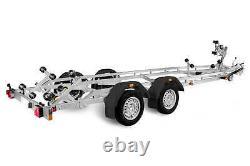 BRANDERUP BOAT TRAILER 242500TB SR 2500KG TWIN AXLE 23ft BOAT TRAILER