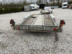 Bateson 16 X 6 Tilt Bed Twin Axle Car Transporter Trailer & Winch No Vat L@@K