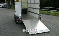 Bateson 160V Van Box Trailer 8x4x5 Twin Axle. ORDER NOW