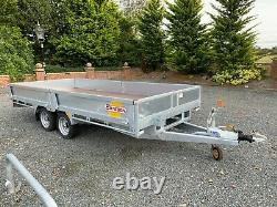 Bateson Platform Twin Axle Trailer With Sides 2020 Galvanised