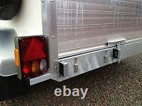 Blue Line Box Van Trailers in Staffordshire 8 x 5 x 6 Shutter Door Twin Axle