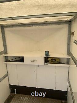 Blue Line Twin axle box trailer. Very good condition