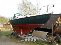 Boat Trailer. Twin Axle 3500kg Braked Trailer. New Tyres. Ring Hitch + Lights