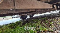 Box Car Trailer Twin Axle