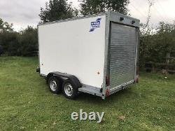 Box Trailer Ifor Williams Twin Axle Hardly Used Bv105