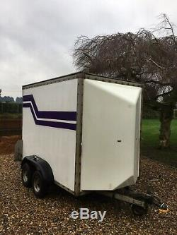 Box trailer Twin Axle