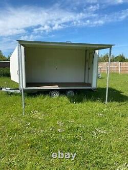 Box trailer only 2018 Twin axle tower van