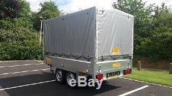 Brand NEW Car box Trailer TWIN AXLE 1300 kg
