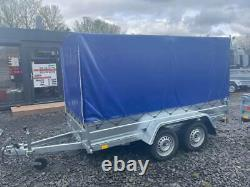 Brand New 10 X 5 Twin Axle Trailer With Frame And 150cm Cover 750kg