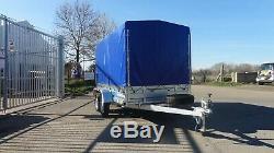 Brand New Car Trailer 10x5 Twin Axle Unbraked 750kg Al-ko Box Trailer Niewiadow