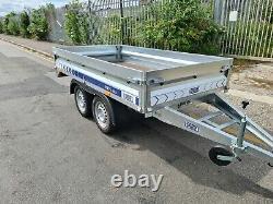 Brand New Twin Axle / 750 Gvw / Multi-purpose / Flatbed / Box Trailer / Camping