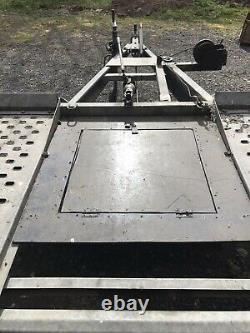 Brendaup Twin Axle Galvanised Car Tiltbed Transporter/trailer GREAT CONDITION