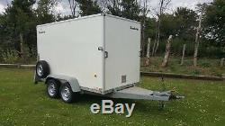 Brenderup Cargoliner Twin Axle Braked 2000kg Box Trailer With Bouble Rear Door