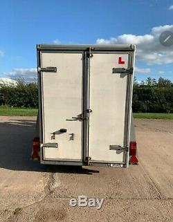 Brenderup Twin Axle Box Trailer