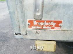 Brenderup twin axle trailer 8ft x 5ft. 1200KG