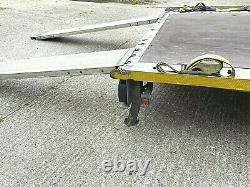 Brian James Car Trailer 3500kg 5.0 X 2.020 Twin Axle Clean