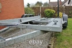 Brian James Car Transporter Trailer, 1 owner, price includes VAT, twin axle