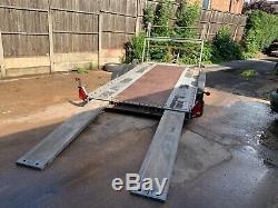 Brian James Car transporter trailer, race car transporter