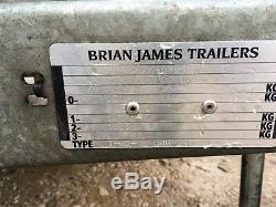 Brian James Cargo Shifter Large Steel Trailer 3000kg £1995