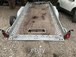 Brian James Clubman Car Transporter Tilt Bed Trailer. Twin Axle