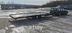 Brian James Twin Axle Car Transporter Trailer Refurbished 18' X 7' Bed