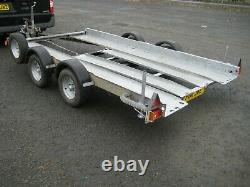 Brian James Twin Axle Club Style Car Transport/ Trailer In Excellent Condition