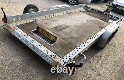 Brian James Twin axle Tilt Bed Car / Van / 4x4 Transporter Trailer 2700kg