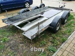 Brian James Twin axle car trailer transporter