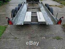 Brian James twin axle car trailer