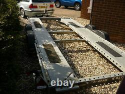 Brian james A Max car transporter twin axle trailer 2.6 ton LED winch low race