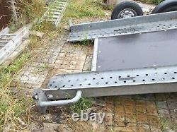 Brian james twin axle tilt bed car transporter trailer 16ft