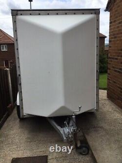 CAR / BOX BLUE LINE TWIN AXLE TRAILER 8 ft L X 5 ft W X 6 ft Tall REDUCED