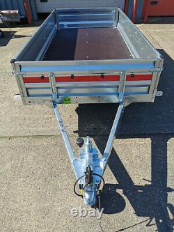 CAR TRAILER BRAND NEW TWIN AXLE 8'7 x 4'1 750 kg