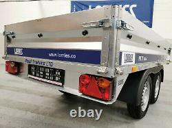 CAR TRAILER BRAND NEW TWIN AXLE 8'7 x 4'4 750 kg